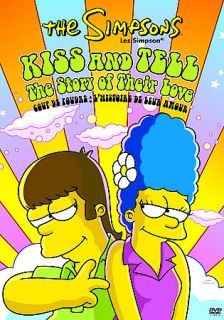 Simpsons   Kiss and Tell DVD, 2006, Canadian Release Full Frame