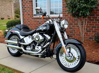 Davidson Fat Boy, Fatboy, Factory Chrome Wheels, 103 Engine Low Mile