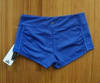NWT WOMENS KYODAN RUNNING ATHLETIC SHORTS L SLIMMING NYLON SPANDEX