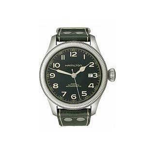 Team Earth Black Dial Mens watch #H60455833 Watches