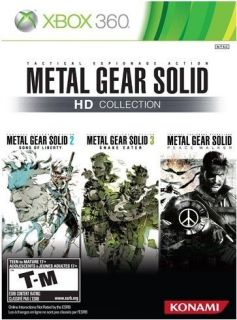 Brand New Factory Sealed Metal Gear Solid HD Collection for Xbox 360