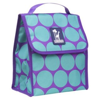 Wildkin Big Dots Aqua Munch n Lunch Bag product details page