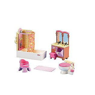 Fisher Price Loving Family Basic Bathroom   Toys & Games   Pretend