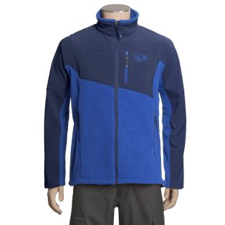 Mountain Hardwear Nakaya Fleece Jacket (For Men) in Sapphire/Blue Chip