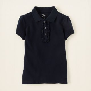 girl   ruffle polo  Childrens Clothing  Kids Clothes  The Children