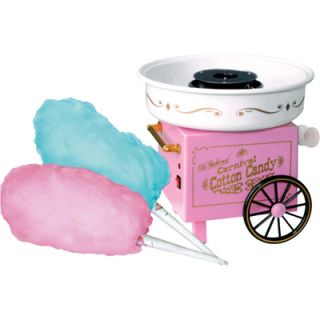 Nostalgia Electrics Old Fashioned Carnival Cotton Candy Machine