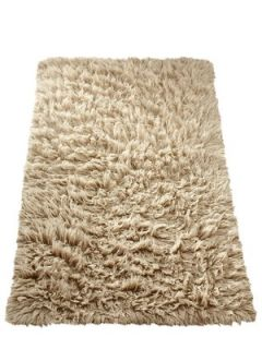 Flokati Hand woven Wool Rug Very.co.uk