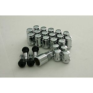 Mr. Lugnut Chrome Bulge Lug Nut & Lock, Wheel Installation Kits