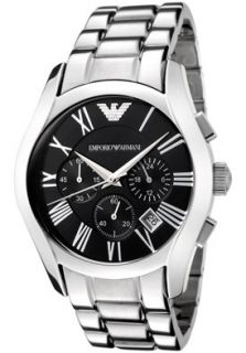 Emporio Armani AR0673 Watches,Mens Classic Chronograph Black Dial