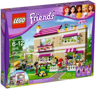 LEGO Friends 3315 Olivia's House Olivia NEW Factory Sealed
