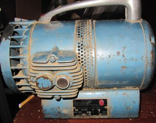 bell&gossett high volume dry vacuum pump model 18 1 x 1/4 HP 1725 rpm
