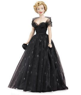 Franklin Mint  Marilyn Monroe Vinyl Doll Awards Night *Brand New