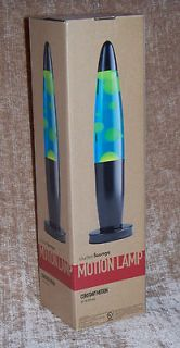 LAVA MOTION Lamp Light Glows Blue & Green Yellow Dorm College Home New