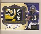TORREY SMITH 2011 NATIONAL TREASURES GOLD 4 COLOR LOGO PATCH AUTO #ED