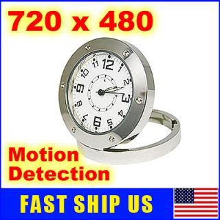 Spy Covert Camera Alarm Clock Nanny Cam DVR @USA New
