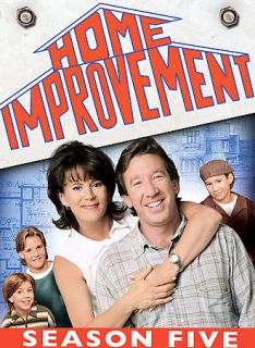 Home Improvement   The Complete Fifth Season DVD, 2006, 3 Disc Set
