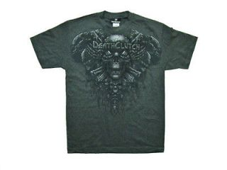 SHIRT GRAY SKULL LOGO TEE MMA BROCK LESNAR MENS SIZE SMALL