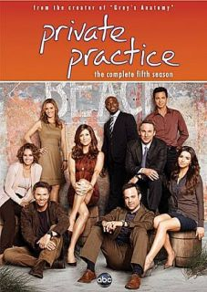 Private Practice The Complete Fifth Season DVD, 2012