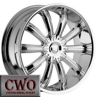 20 Chrome Incubus Awakening Wheels Rims 5x115/5x120 5 Lug Charger 300