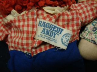 knickerbocker raggedy ann and andy doll in Raggedy Ann & Andy
