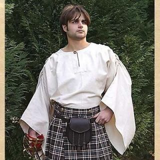 scottish celtic highlander men s cotton shirt ls new returns