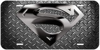 Newly listed Superman Aluminum Novelty Car Auto License Plate