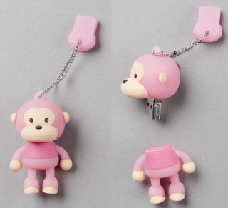 Pink Monkey USB Flash Memory Drive(Stick/Pe​n/Thumb) 16GB