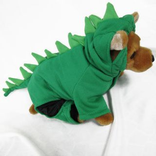 Newly listed Dinosaur Gr Costume pet dog clothes APPAREL Chihuahua S