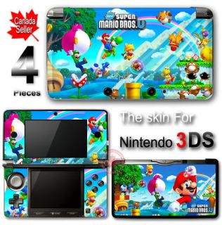 Super Mario NEW SKIN VINYL STICKER DECAL COVER for Nintendo 3DS