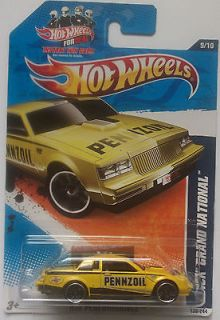 2011 Hot Wheels Buick Grand National Col. #139 (Yellow Version)