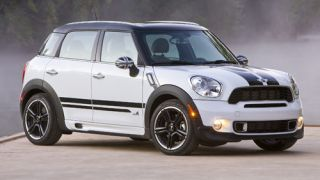 MINI Cooper Countryman Black Side Door Stripes Set Left Right Decal