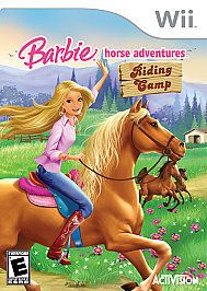 barbie horse adventures riding camp wii 2008
