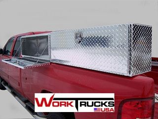 Truck Tool Box 88 Topsider Economy Priced High Side Top Mount