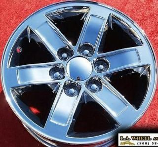 GMC SIERRA YUKON AVALANCHE SUBURBAN TAHOE OEM CHROME WHEELS RIMS 5296