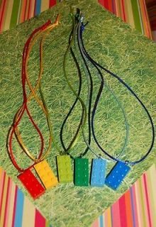 24 LEGO Necklaces Unique Birthday Party Favor Boy OR Girls Matching