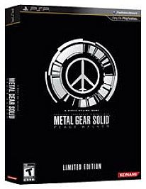 Metal Gear Solid Peace Walker Limited Edition PlayStation Portable