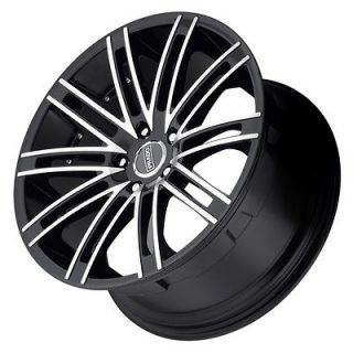 20 inch Prado Arcana staggered black wheels rims 5x112 Mercedes E350