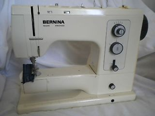 bernina record sewing machine foot pedal cord one owner returns