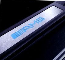 mercedes amg w221 s class illuminated door sills time left