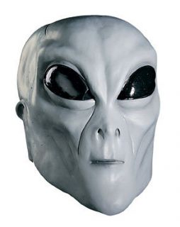 Deluxe Roswell Alien Latex Mask Adult Costume Accessory UFO Space Mars