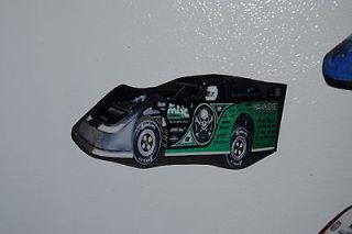 Scott Bloomquist #0 Hawkeye Trucking Fridge/Tool Box Magnet  *FREE S/H