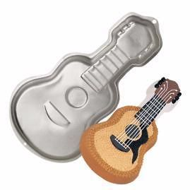 guitar electric shaped novelty birthday party cake pan time left