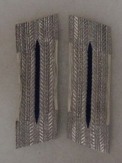 UNUSED ORIGINAL PAIR WW2 Vintage GERMAN ARMY MEDICAL DRESS COLLAR TAB