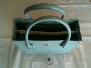 Authentic Kate Spade Quinn Tarrytown Sky Blue leather purse handbag