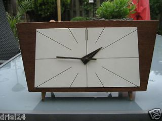 real art deco mantel clock brand hermle from netherlands time