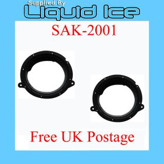 SAK 2001 MERCEDES C CLASS FRONT DOOR SPEAKER FITTING ADAPTOR RING 1993