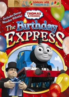 Thomas Friends Birthday Express DVD, 2011, Canadian French