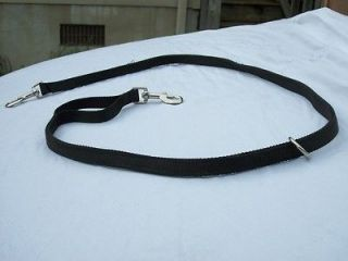 hunting dog leash 2 snaps o ring heavy duty usa