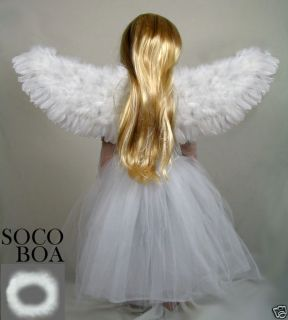 Angel Wings Halo Child Toddler Kids Fairy photo props cosplay S