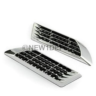 AIR FLOW INTAKE SIDE VENT GRILLE KIT UNIVERSAL (Fits Toyota Avalon